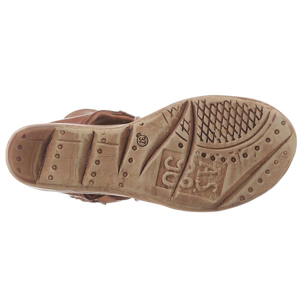 A.S.98 Sandalette »NOA«, mit biegsamem Draht im Schaftrand