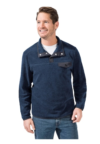Catamaran Fleece - Shirt mit markanten Ziernähte kaufen
