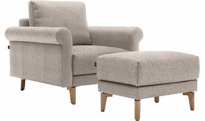 hülsta sofa Sessel »hs.450«, wahlweise in Stoff oder Leder, im modernen Landhausstil kaufen