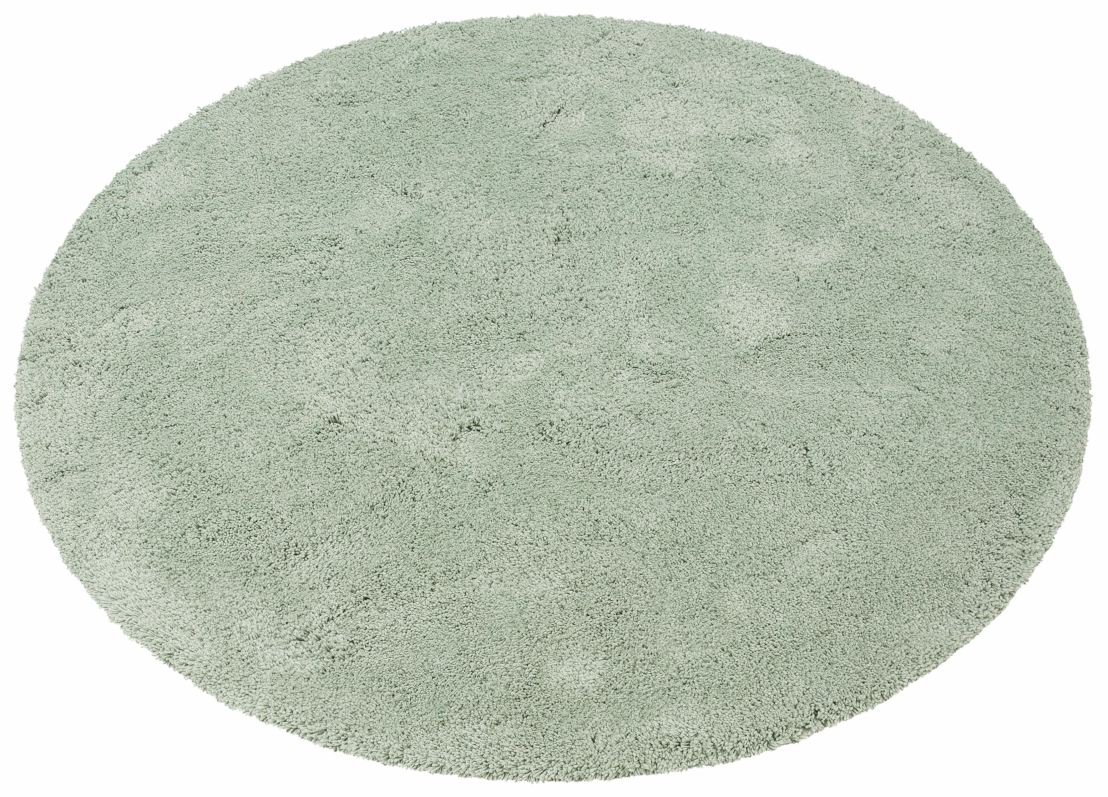 Hochflor-Teppich Desner my home rund Höhe 38 mm maschinell getuftet