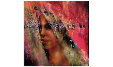 Artland Glasbild »Larissa«, Frau, (1 St.) kaufen