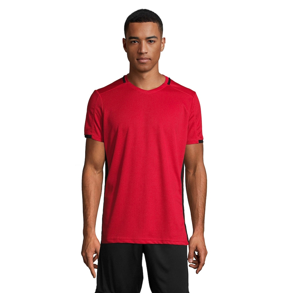 SOLS T-Shirt »Herren Classico Kontrast Kurzarm Fußball«
