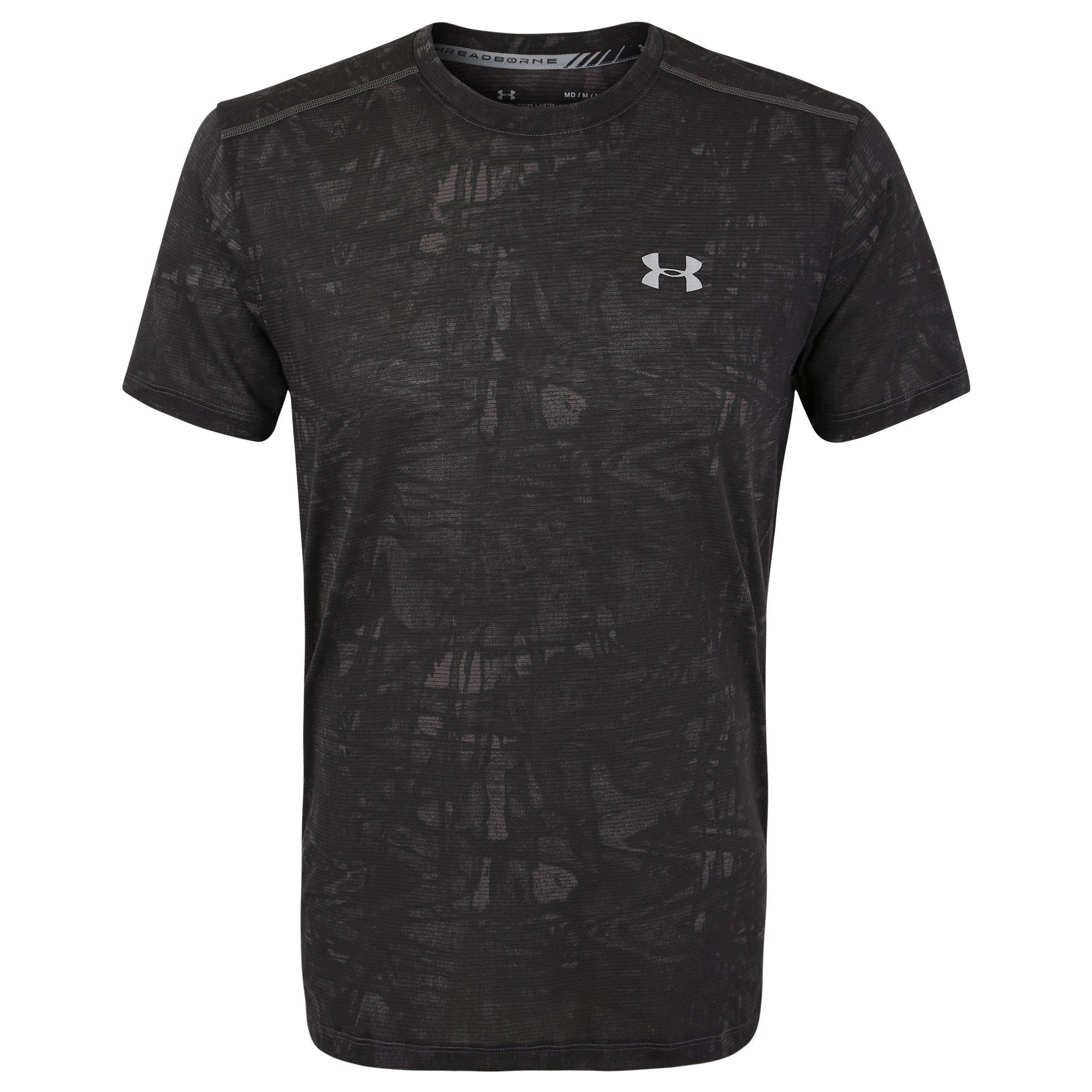 Under Armour® Laufshirt »Heatgear Streaker« | Sportbekleidung > Sportshirts > Laufshirts | Grau | UNDER ARMOUR®