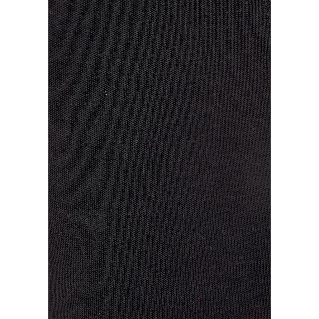 Buffalo Sweathose, mit seitlichen Eingrifftaschen und Lurexstreifen