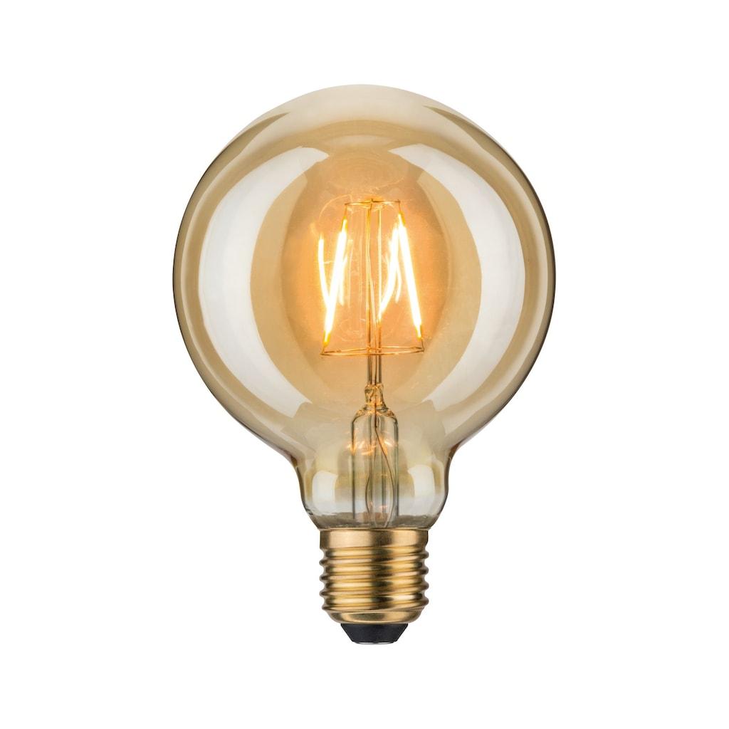 Paulmann LED-Leuchtmittel »Vintage Globe 95 2,5W E27 Gold 1700K«, Extra-Warmweiß
