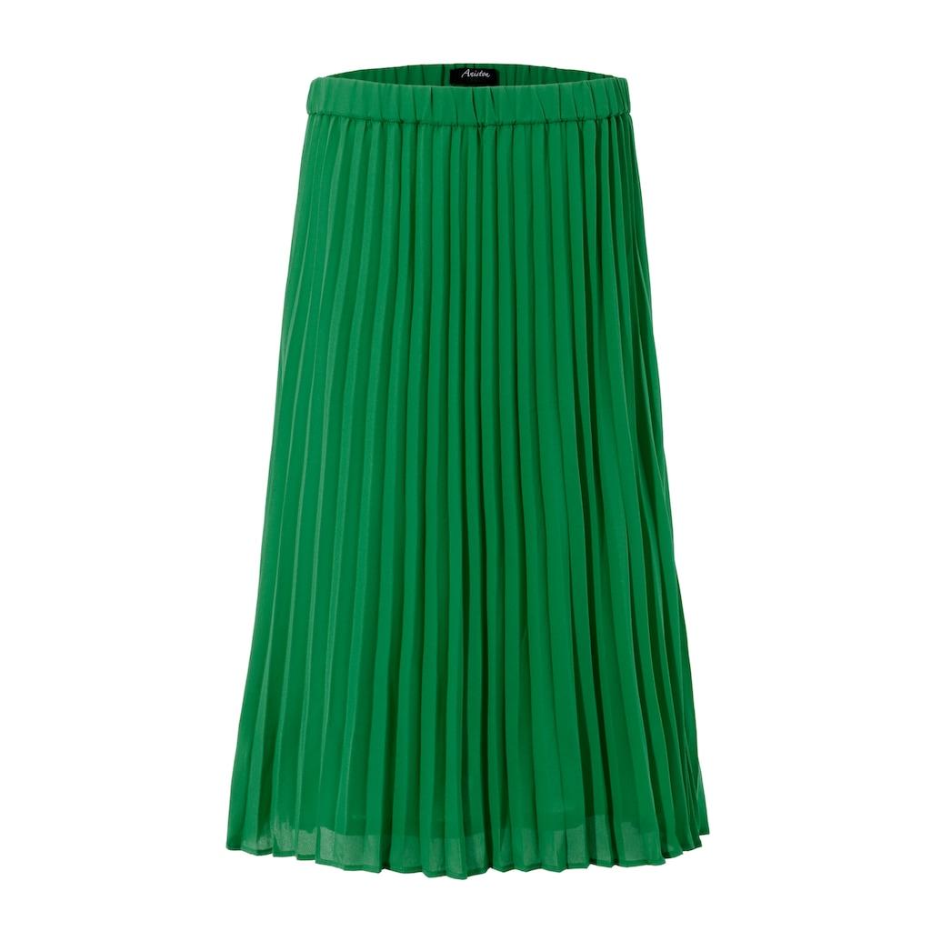 Aniston CASUAL Plisseerock, in trendiger Farbpalette - NEUE KOLLEKTION