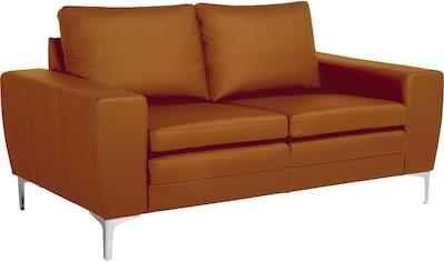 Places of Style 2-Sitzer »Twigo«, in Echtleder, mit hohem Sitzkomfort kaufen