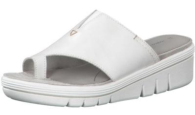 MARCO TOZZI Pantolette »Leder« kaufen