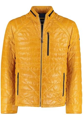 DNR Jackets Lederjacke, mit Kontrastfutter kaufen