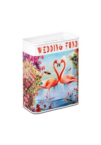 LOGOSHIRT Spardose mit Flamingo - Motiv kaufen