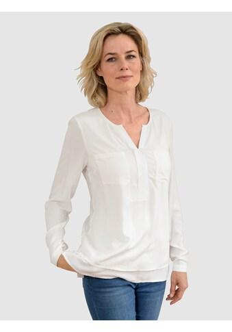 Dress In Blusentop, mit besonderem Ausschnitt kaufen