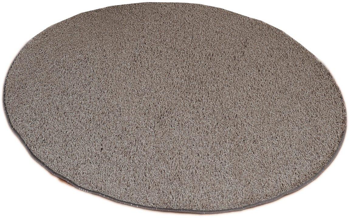 Hochflor-Teppich Amarillo Living Line rund Höhe 35 mm maschinell getuftet