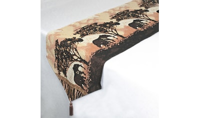 Delindo Lifestyle Tischläufer »Elefant«, dicker Webgobelin-Stoff kaufen