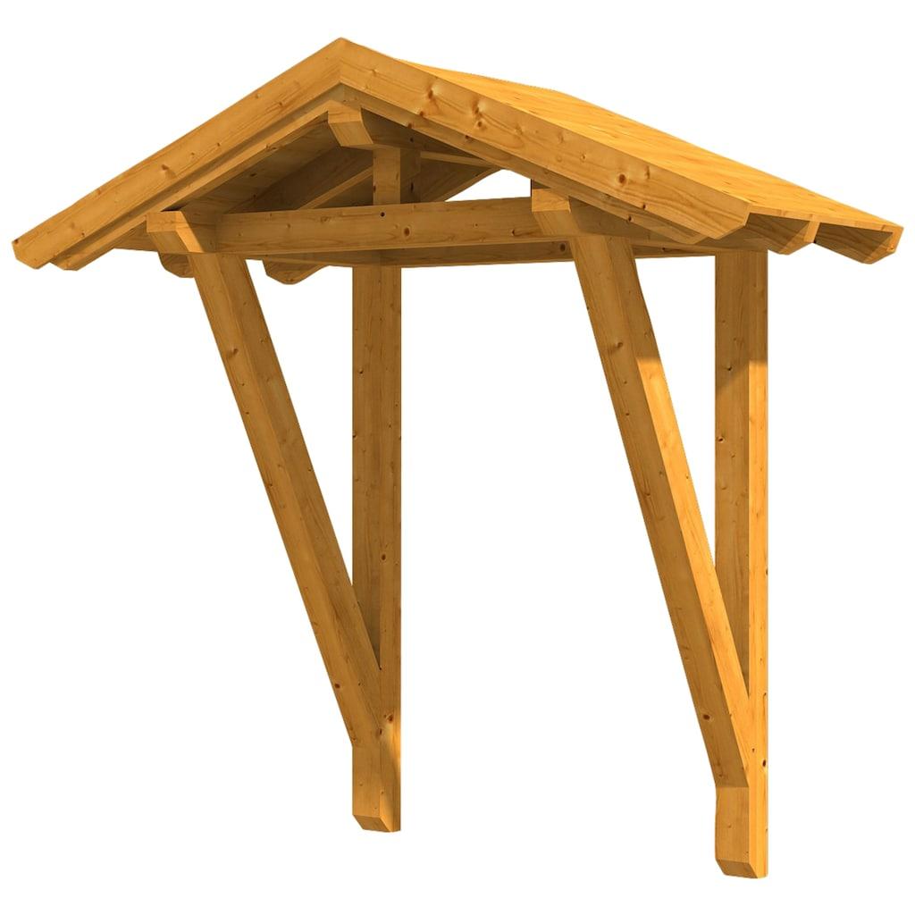 Skanholz Vordach »Siegen 2«, BxTxH: 247x116x267 cm