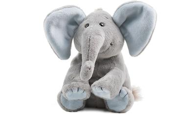 Schaffer® Kuscheltier »Elefant Baby Sugar, 19 cm, grau/hellblau« kaufen