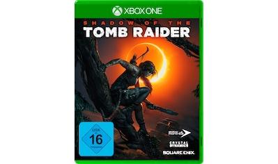 Shadow of the Tomb Raider Xbox One kaufen