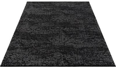 Home affaire Teppich »Dilani«, rechteckig, 12 mm Höhe, Hoch-Tief-Effekt, Wohnzimmer kaufen