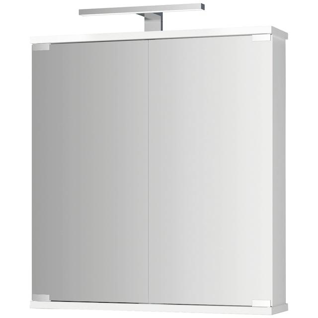 JOKEY Spiegelschrank »Kandi LED«, weiss, 60 cm Breite