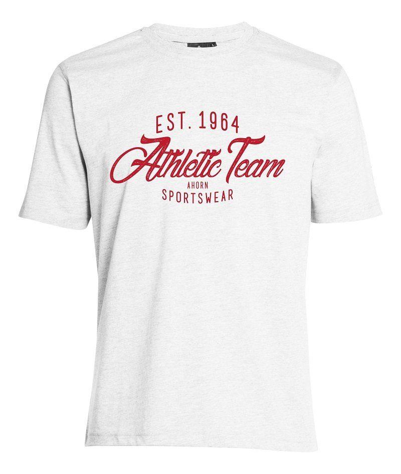 AHORN SPORTSWEAR T-Shirt mit modischem Print | Sportbekleidung > Sportshirts > T-Shirts | ahorn sportswear