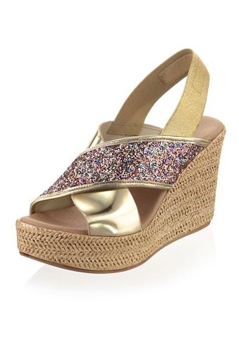 Alba Moda Sandalette mit effektvoll geschmückten Riemchen kaufen