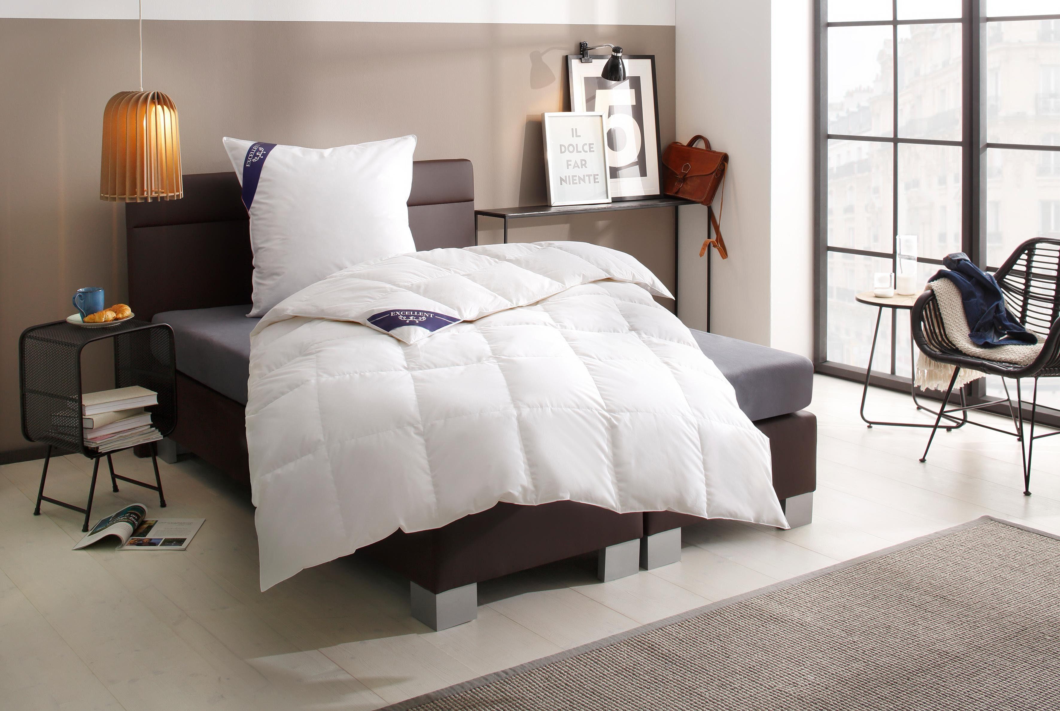 Daunenbettdecke First Class Excellent leicht Füllung: 100% Daunen Bezug: 100% Baumwolle