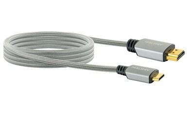 Schwaiger Highspeed HDMI Kabel mit Ethernet, 4K, Full HD, 3D, Ultra HD »mit Mini HDMI Stecker« kaufen