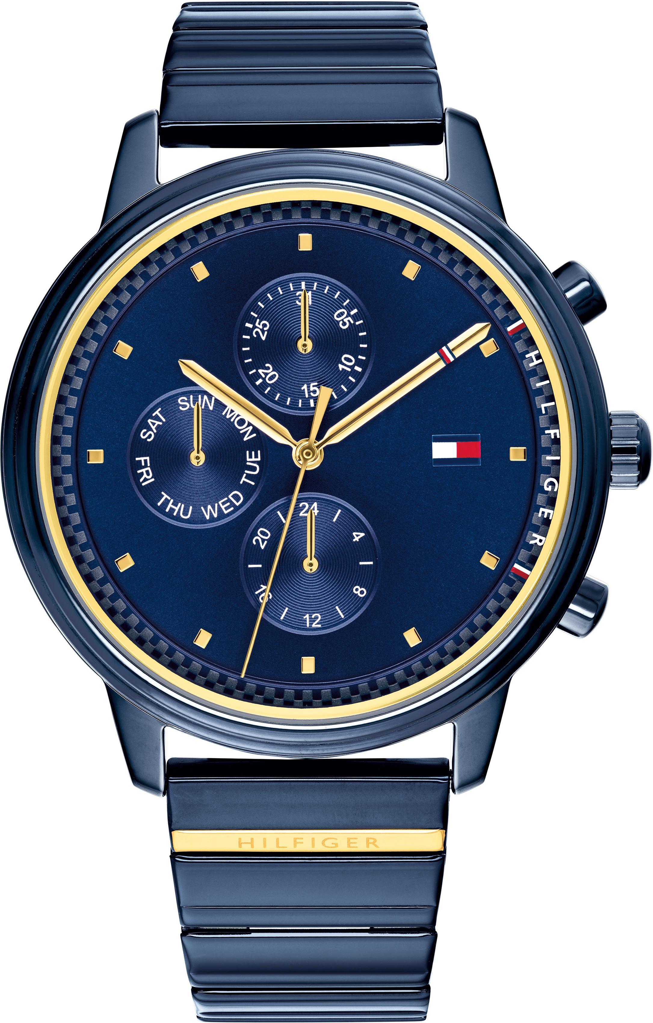 TOMMY HILFIGER Multifunktionsuhr CASUAL SPORT 1781893 | Uhren > Multifunktionsuhren | Blau | Tommy Hilfiger