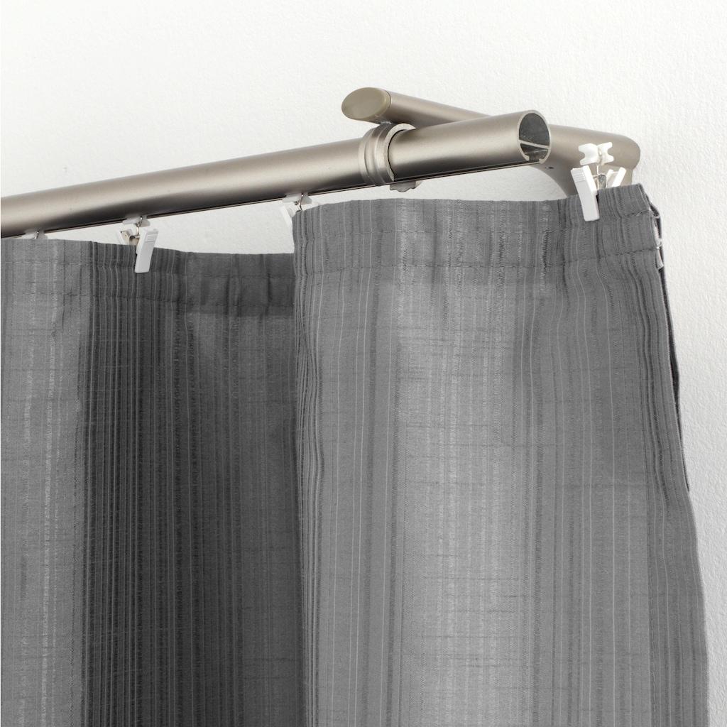 GARDINIA Klick-Gleiter »X-Gleiter mit Klammer«, Serie Flächenvorhang Technik Atlanta