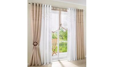 Raffhalter my home, passend für Gardinen Vorhänge (Set) kaufen