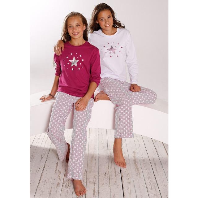 petite fleur Pyjama (2-tlg., 2 Stück)