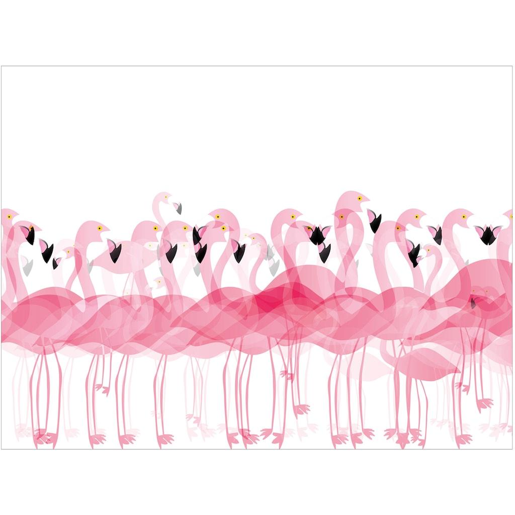 Contento Platzset »Matteo Flamingo«, (Set, 4 St.), für den Innen- und Außenbereich, wasserabweisend, 30x40 cm