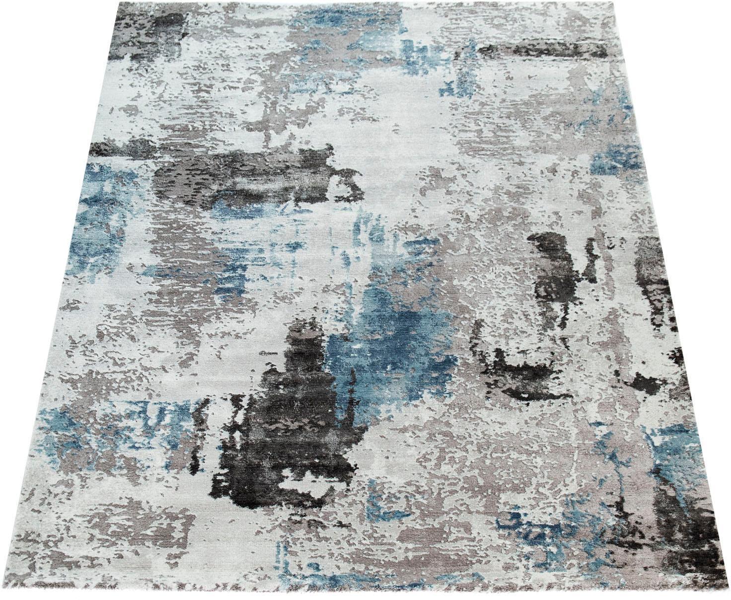 Teppich Crayon 451 Paco Home rechteckig Höhe 15 mm maschinell gewebt