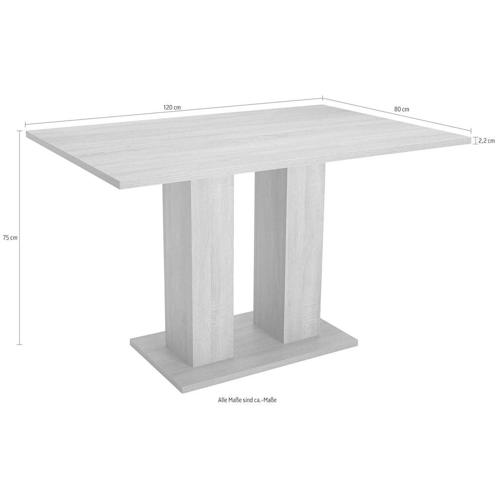 Esstisch »Fontana«, zeitloses Design