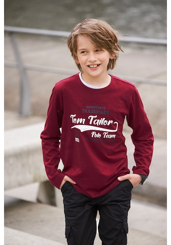 TOM TAILOR Polo Team Langarmshirt »FASHION GEAR« kaufen