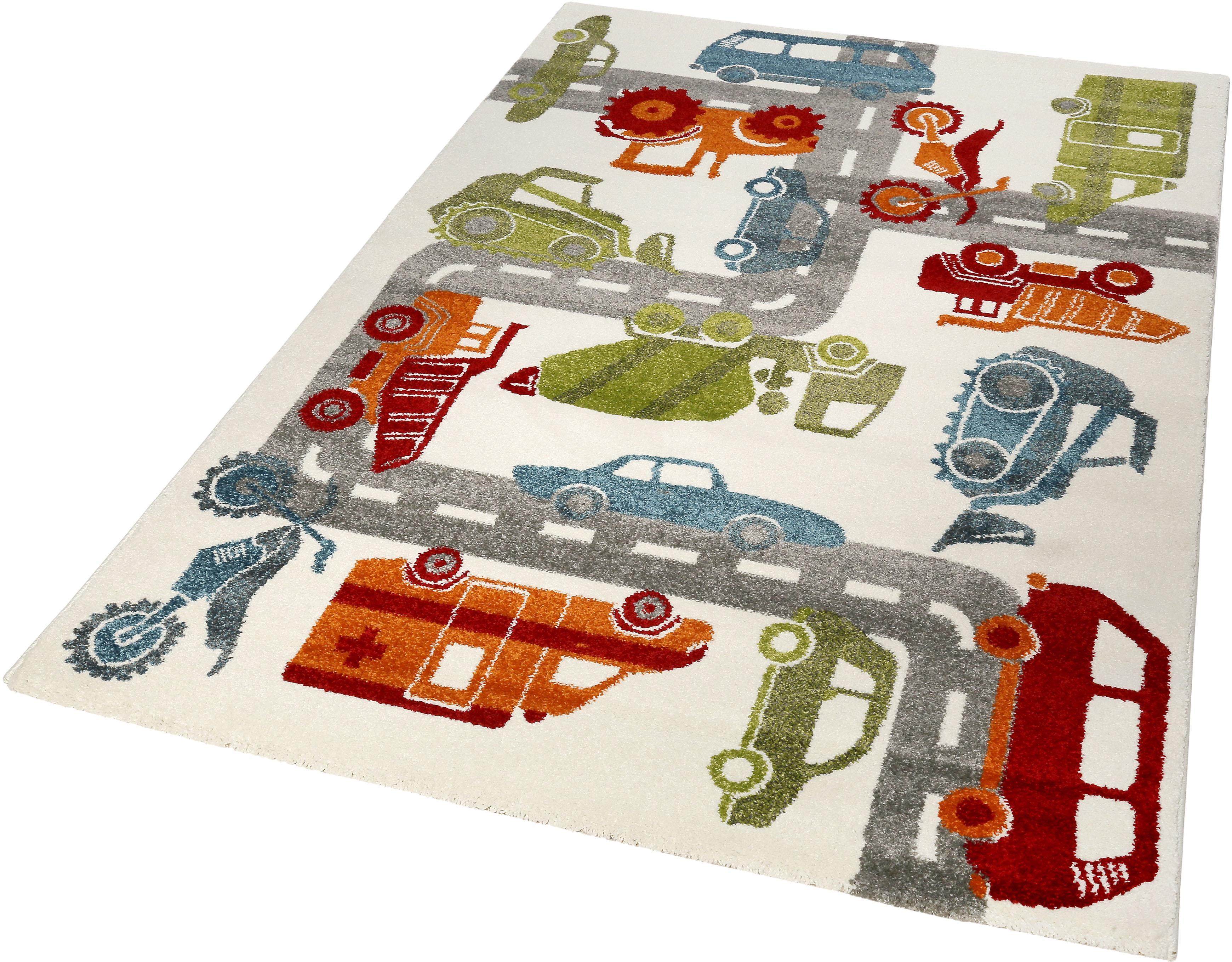 Kinderteppich Traffic Sigikid rechteckig Höhe 13 mm maschinell gewebt