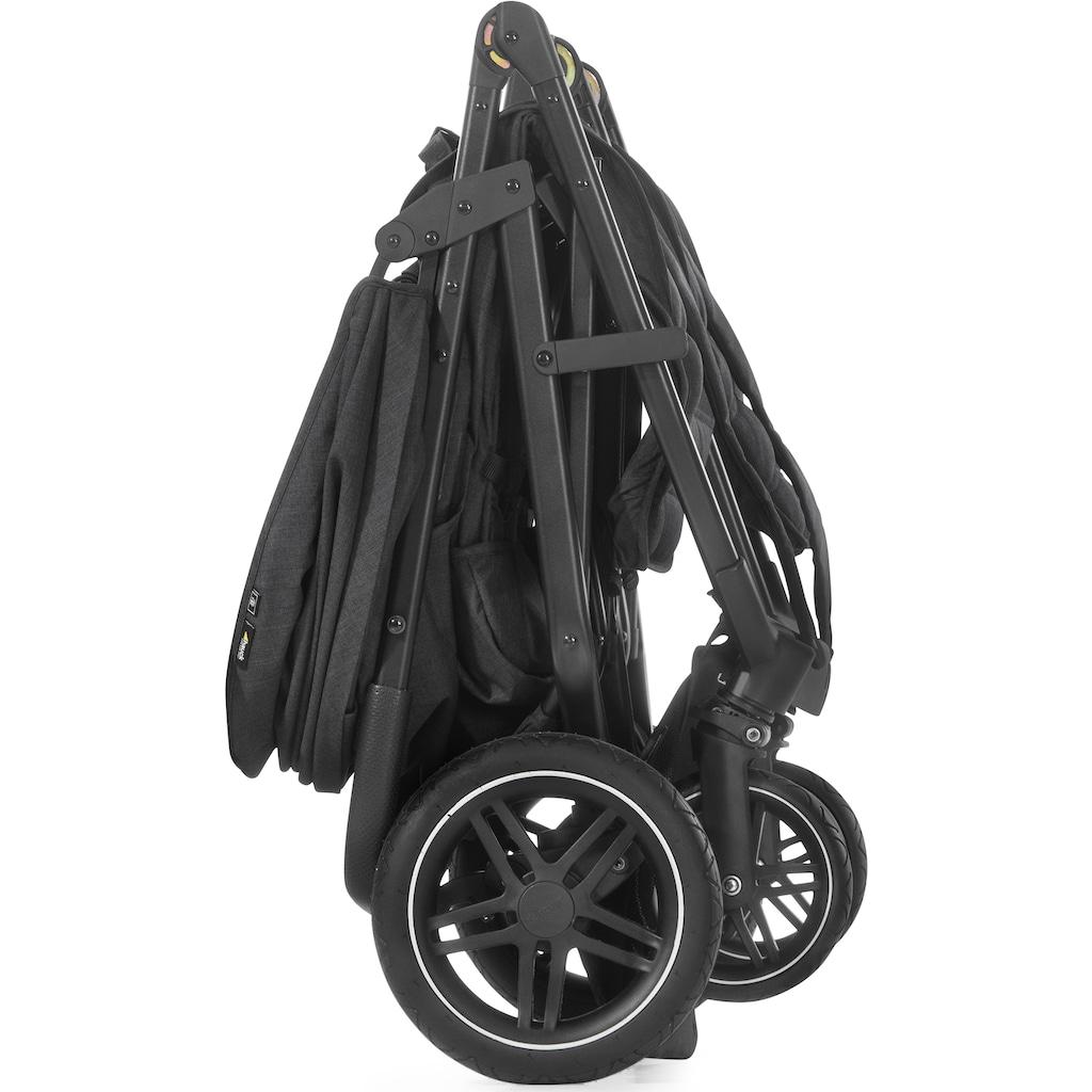 Hauck Geschwisterwagen »Uptown Duo«, 30 kg, mit schwenk- und feststellbaren Vorderrädern; Kinderwagen, Kinderwagen für Geschwister; Geschwisterkinderwagen