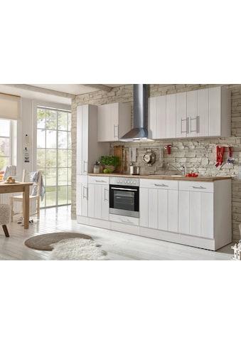 RESPEKTA Küchenzeile »Ulm«, mit E-Geräten, Breite 250 cm kaufen