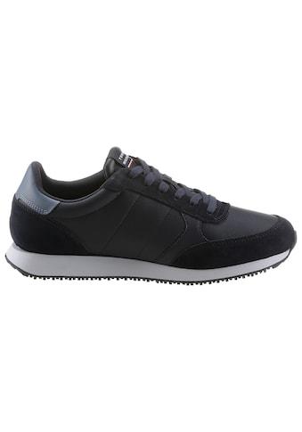 Tommy Hilfiger Sneaker »RUNNER LO LEATHER MIX«, mit seitlichem Logodruck kaufen