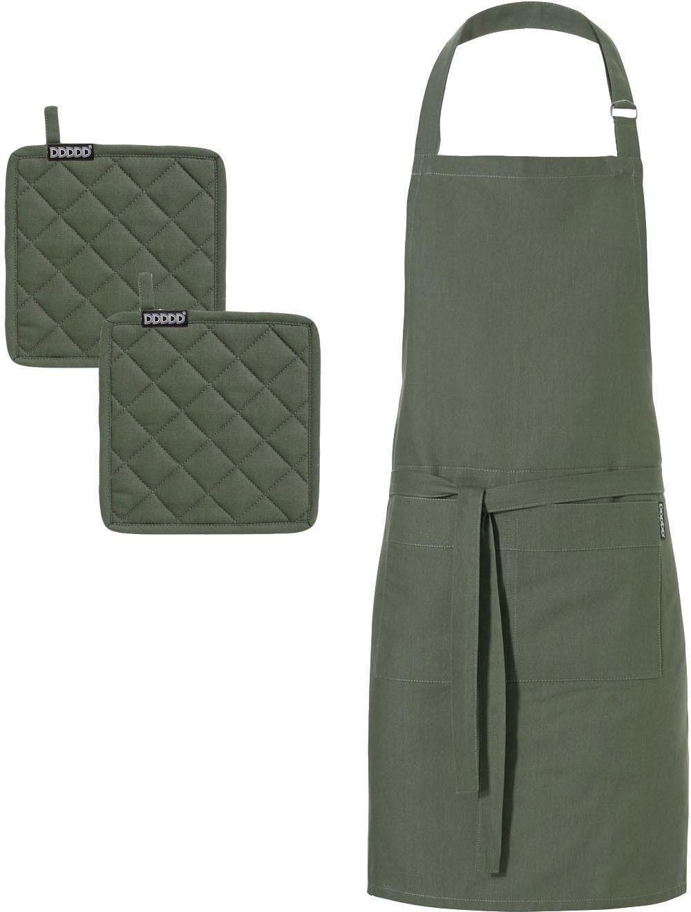 """DDDDD Kochschürze """"Kit"""" (Set 3-tlg) Wohnen/Haushalt/Haushaltswaren/Kochen & Backen/Küchenschürze und Kochschürze"""