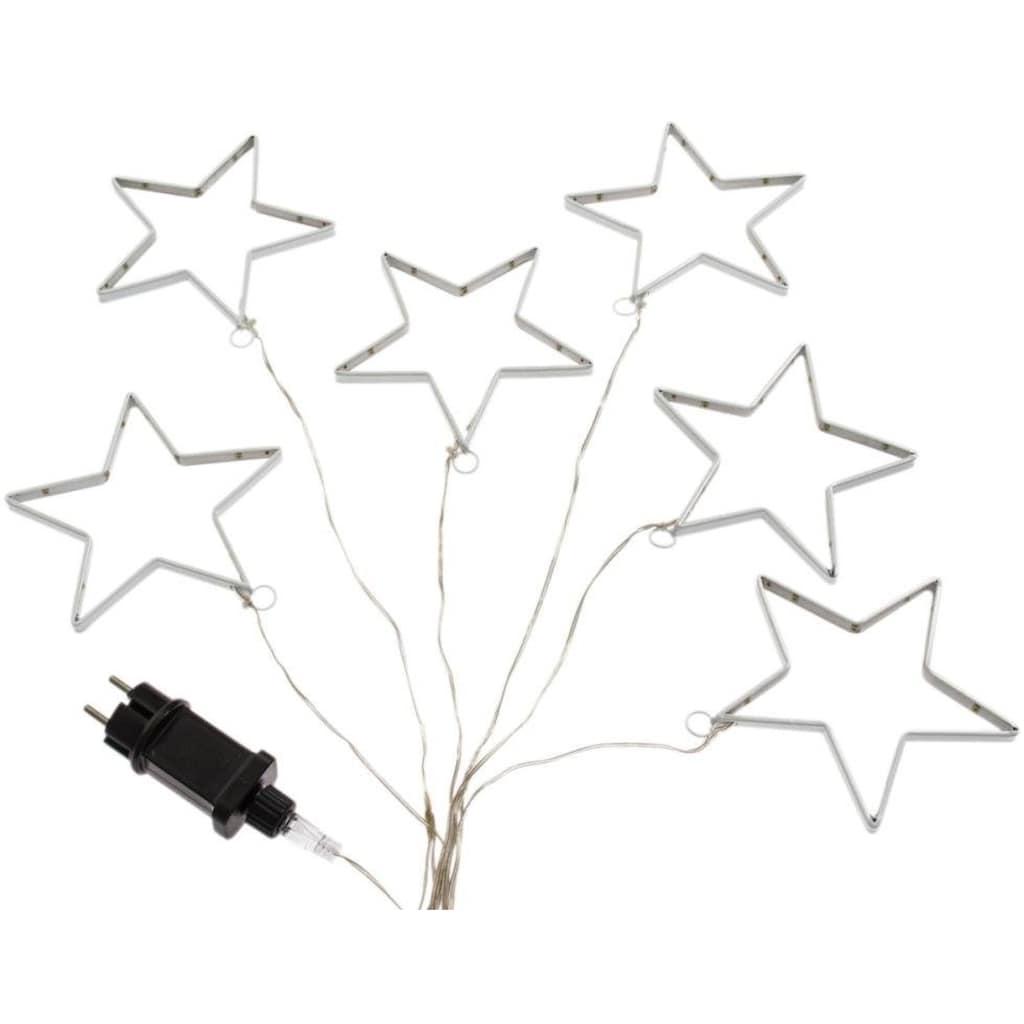 LED-Lichterkette »Sterne«, kaltweiß