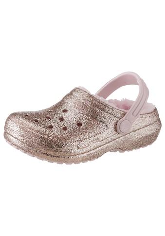 Crocs Clog »Classic Glitter Lined Clog« kaufen