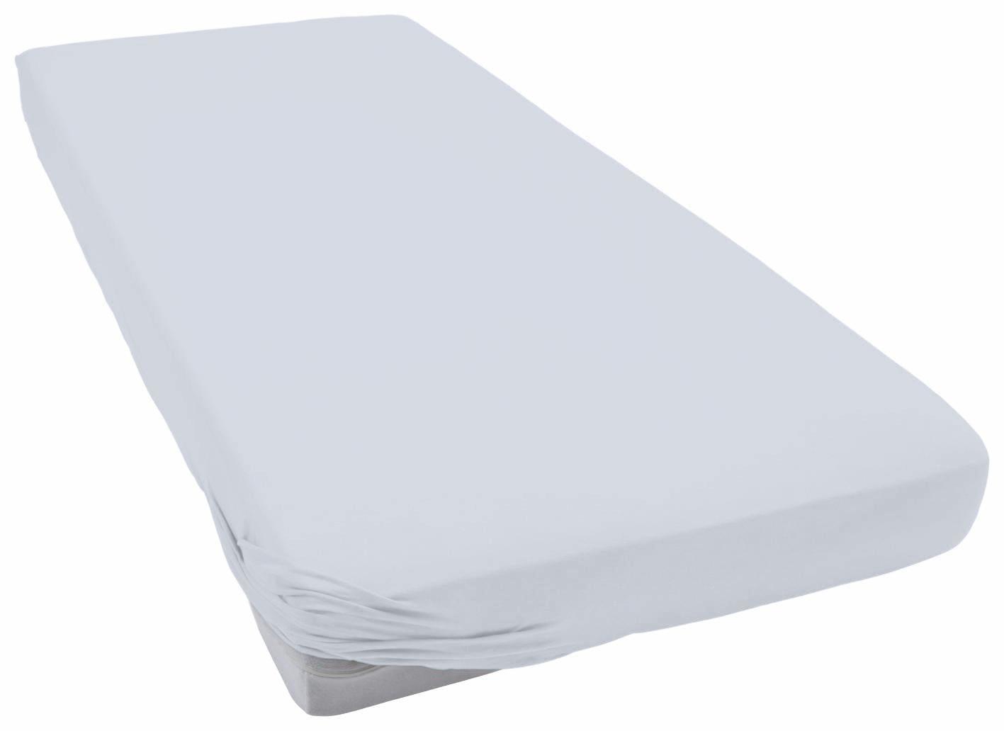 Spannbettlaken »Teddy Flausch«, Primera | Bekleidung > Bademode > Bademäntel | Grau | Flausch - Biber - Baumwolle - Polyester | PRIMERA FIRST SLEEPWARE