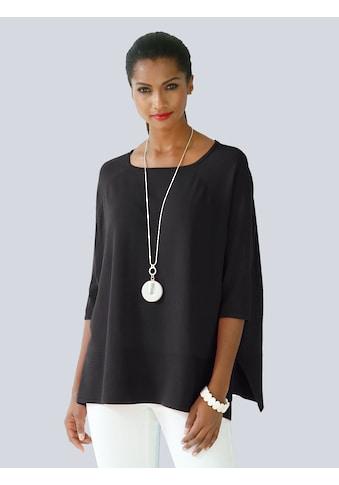 Alba Moda Rundhalspullover, in Oversized-Form kaufen