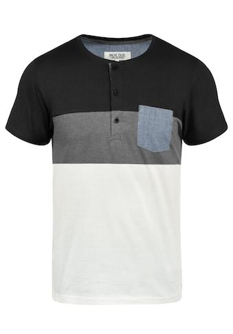Indicode Rundhalsshirt »Albert«, Kurzarmshirt mit Brusttasche kaufen