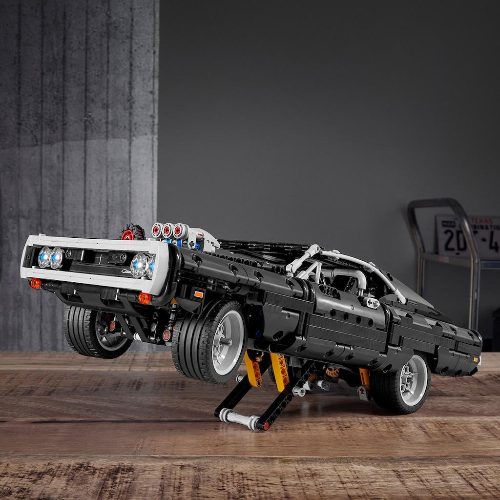 LEGO® Konstruktionsspielsteine »Dom's Dodge Charger (42111), LEGO® Technic«, (1077 St.)