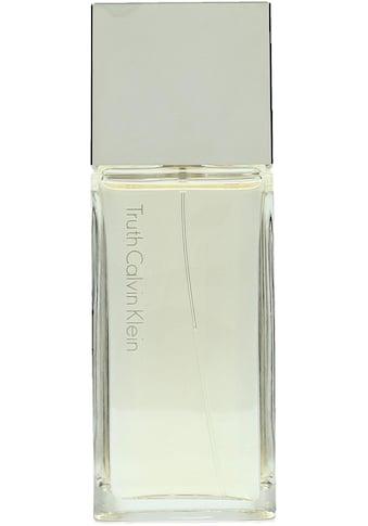 Calvin Klein Eau de Parfum »Truth Women« kaufen