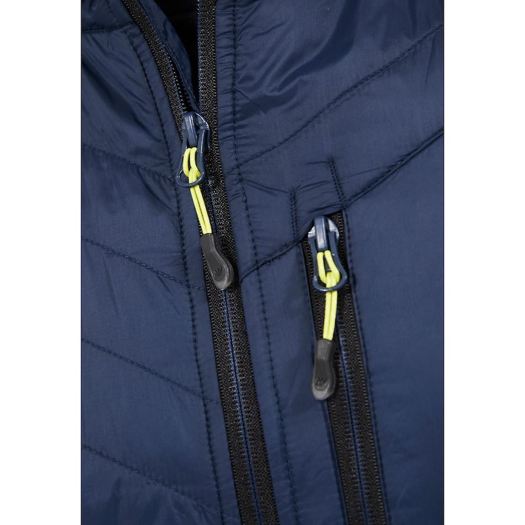 WHISTLER Outdoorjacke »JAYDEN FLEECE HYBRID«, im modernen Look
