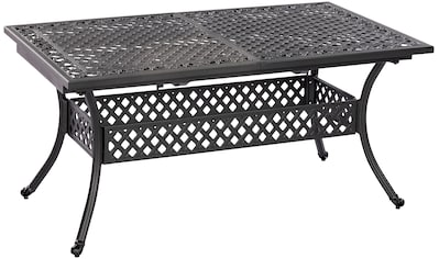 MERXX Gartentisch »Athos«, Aluminiumguss, ausziehbar, 160(204)x93 cm kaufen