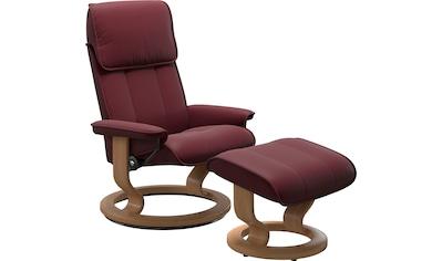 Stressless® Fußhocker »Admiral«, mit Classic Base, Gestell Eiche kaufen