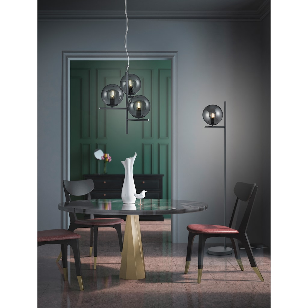 TRIO Leuchten Pendelleuchte »PURE«, E14, 1 St., Hängeleuchte, Hängelampe